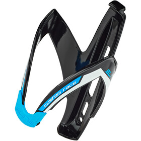 Elite Custom Race Bidonhouder, black/blue glossy